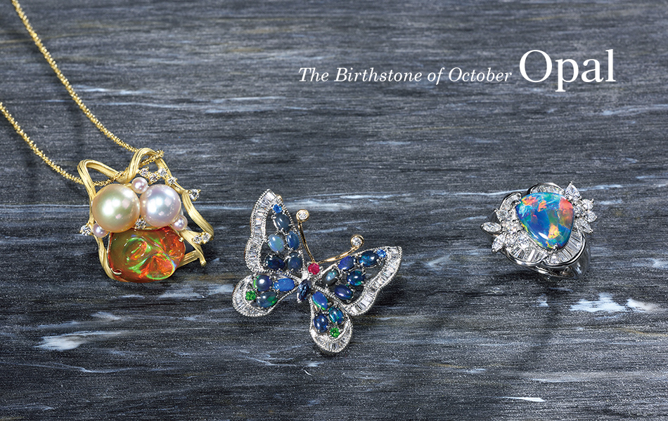 The Birthstone of October Opal